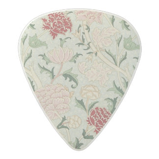 Médiator Acetal Cru floral de Pre-Raphaelite de William Morris