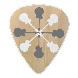 Médiator Acetal le superbe-cool des guitare-joueurs