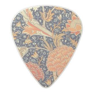 Médiator Acetal Motif floral de Nouveau d'art de William Morris