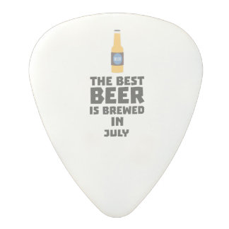 Médiator En Polycarbonate La meilleure bière est en juillet Z4kf3 brassé