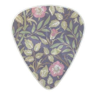 Médiator Perle Celluloid Art floral Nouveau de Briar doux de William Morris