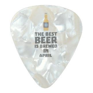 Médiator Perle Celluloid La meilleure bière est en avril Z86r8 brassé
