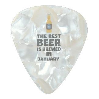 Médiator Perle Celluloid La meilleure bière est en janvier Zxe8k brassé
