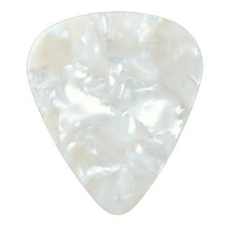 Médiator Perle Celluloid Onglet de guitare de celluloïde de perle