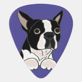 Médiators Art drôle de chiot de Boston Terrier