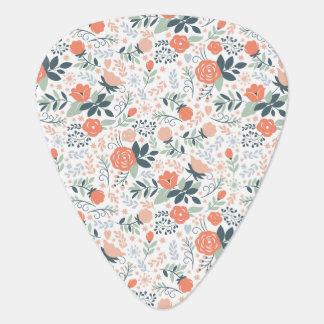 Médiators Beau motif floral Girly
