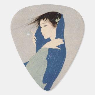 Médiators Femme vintage japonaise fraîche de dame de geisha