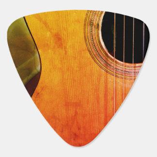 Médiators Guitare acoustique musicale affligée par hanche