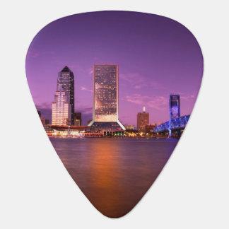 Médiators Horizon de Jacksonville la Floride la nuit