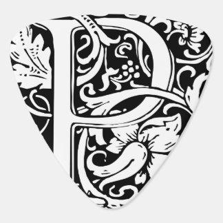 Médiators Initiale médiévale de cru de monogramme de la