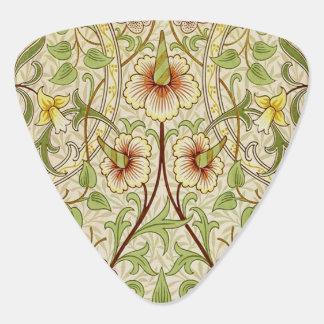 Médiators Jonquille vintage à la mode de papier peint floral