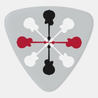 Médiators le bruit d'une guitare