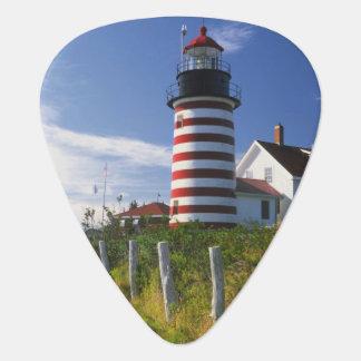 Médiators Les Etats-Unis, Maine, Lubec. Phare principal