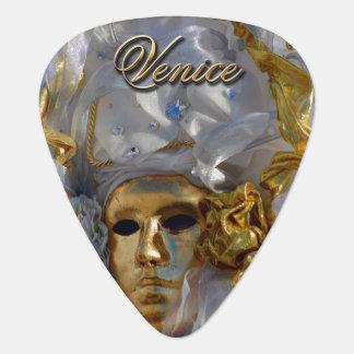 Médiators Masque d'or de carnaval - Venise, Italie