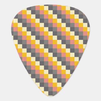 Médiators Motif abstrait de couleur de grille