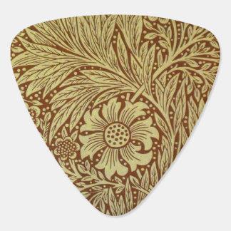 Médiators Motif floral vintage de papier peint de souci