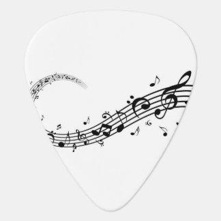 Médiators Musique et amour de sélection de guitare
