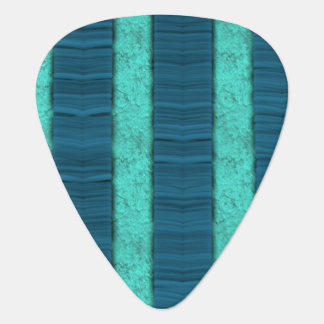 Médiators Norme texturisée de sélection de rayure bleue
