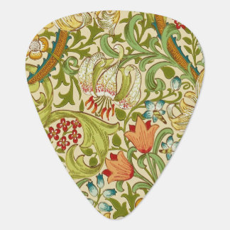 Médiators Pre-Raphaelite d'or de cru de lis de William