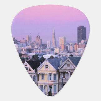Médiators San Francisco, la Californie. Vue de victorien