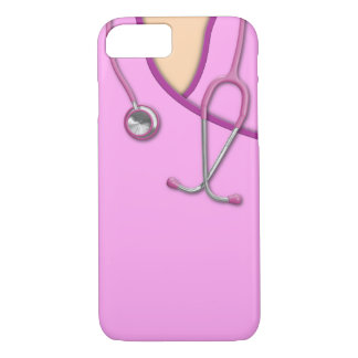 Médical rose frotte coque iPhone 8/7