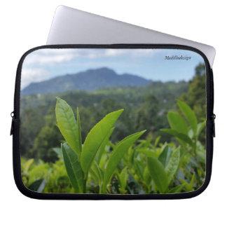 Medilludesign - feuilles de thé protection pour ordinateur portable