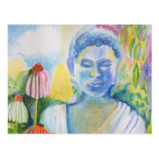 Méditation de la fleur de Bouddha Cartes Postales
