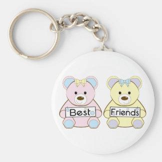 Meilleurs amis porte-clés