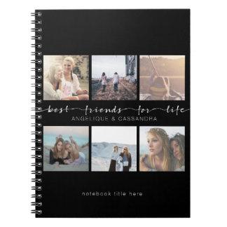 Meilleurs amis pour des photos d'Instagram de Carnets