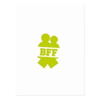 Meilleurs amis pour toujours carte postale