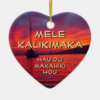 Mele Kalikimaka, ornement de Hauʻoli Makahiki Hou