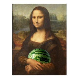 Melona Lisa souhaite le jour national heureux de Carte Postale
