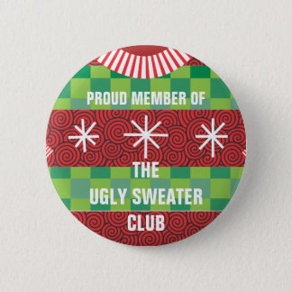 Membre du bouton laid de club de chandail badge rond 5 cm
