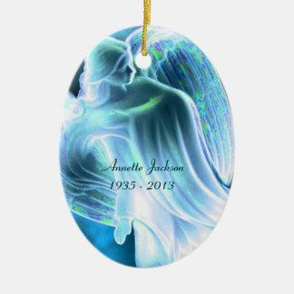 Mémorial d'ange bleu - ornement