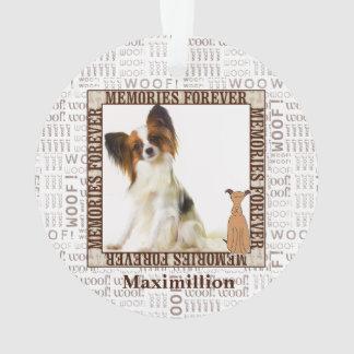 Mémorial d'animal familier de chien en tonalités