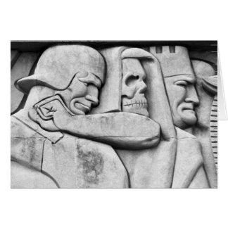 Mémorial de WWI à Kansas City Carte