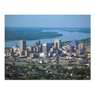 Memphis, carte postale d'horizon de TN