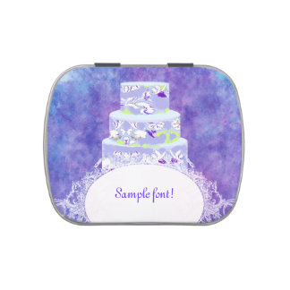 Menthe de faveurs de gâteau/mariage de PixDezines Boites De Bonbons Jelly Belly