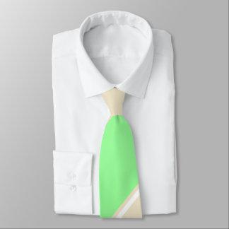 Menthe et cravate Diagonal-Rayée Thé-Colorée