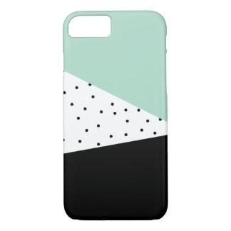 Menthe moderne et coque iphone noir