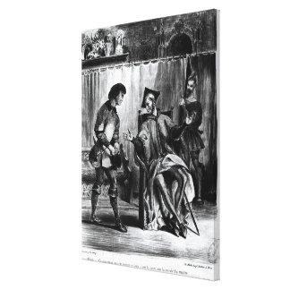 Mephistopheles et l'élève toiles