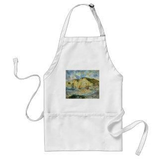 Mer et falaises par Pierre Renoir, beaux-arts Tablier