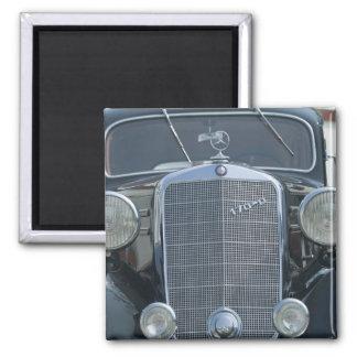 Mercedes antique 2 magnet carré