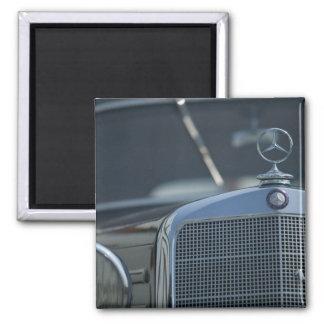 Mercedes antique 4 magnet carré