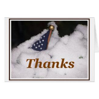 Merci à nos troupes cette carte de saison des