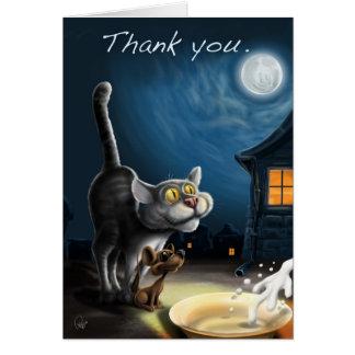 Merci ! carte de vœux
