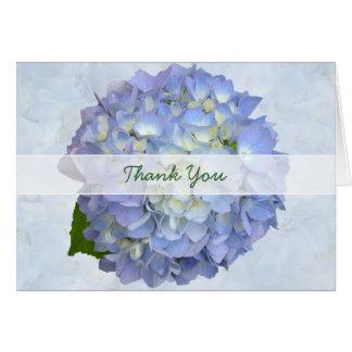 Merci de lune bleue, carte de note pliée