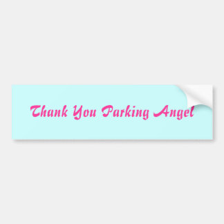 Merci garant l'ange autocollant de voiture