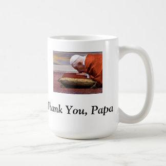 Merci, papa ! - Le pape Benoît XVI Mug
