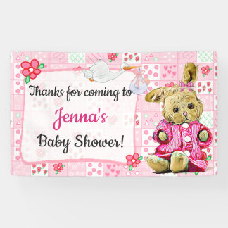 Merci pour prochaine bannière de baby shower